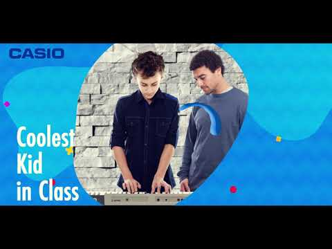 Casio Keyboards - Learn faster with new smart keyboards.