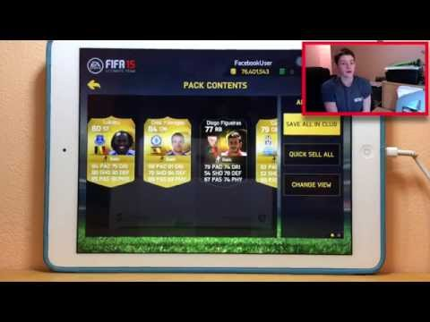 FIFA15 IOS-50K PACKS ARE INCREDIBLE TOO MANY INFORMS AGAIN!!!