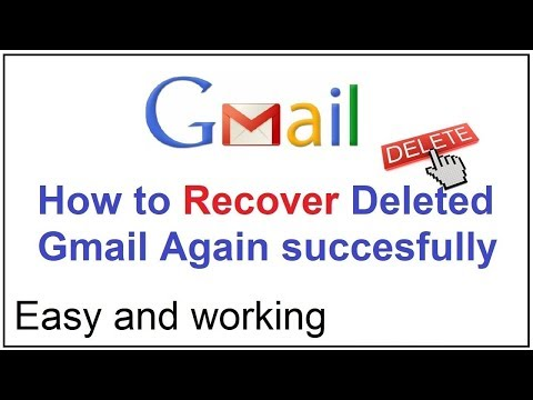 how to recover deleted gmail account 2017