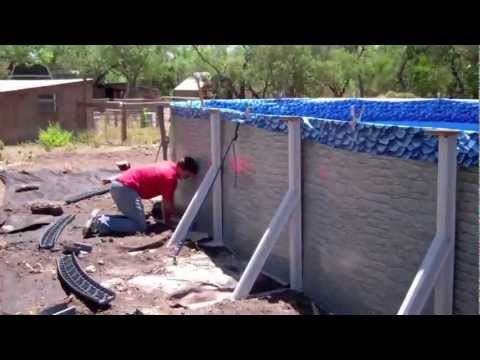 Building an Above Ground Pool in 3 minutes