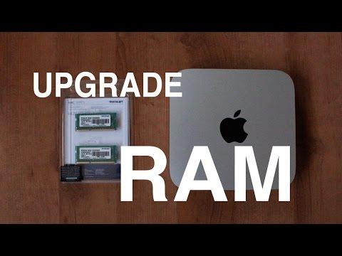 How to Install Ram onto a Mac Mini