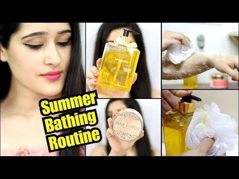 FOLLOW THIS BATHING ROUTINE FOR GLOWING & CLEAR SKIN + ALL SKIN TYPES