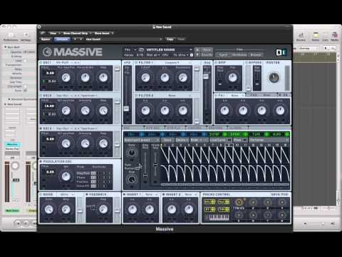 Creating A Deep House Arp In NI Massive