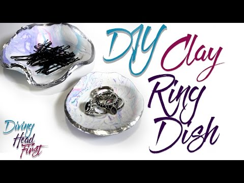 Clay Ring Dish | DIY | Diving Head First