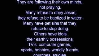 Disobedient Children -- Word 3/27/2012