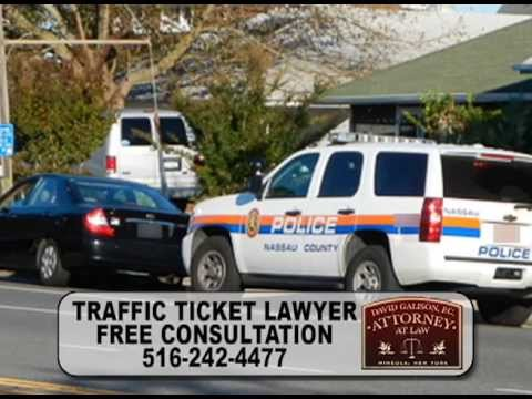 Illegal U-Turn Ticket Lawyer Suffolk County, David Galison, I Fight to Keep Your Points Down!