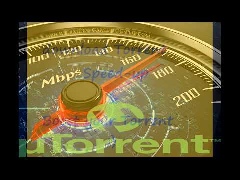 how to make utorrent speed faster