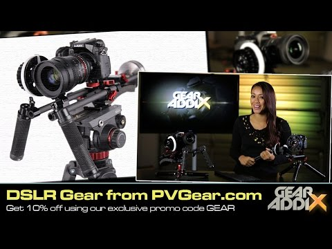 Exclusive Deal on PVGear.com DSLR Rigging Accessories