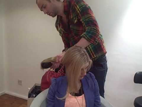 HOW TO apply clip in hair extensions| Grazia UK