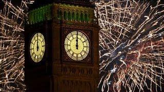 London Fireworks 2014 - New Year