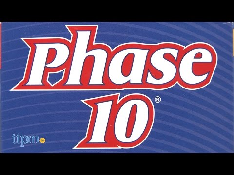 Phase 10 from Mattel