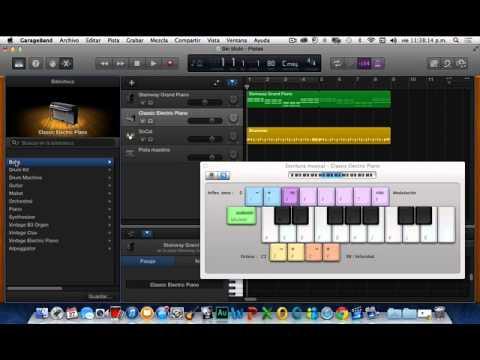 Tutorial GarageBand En Español/Mac/2014/