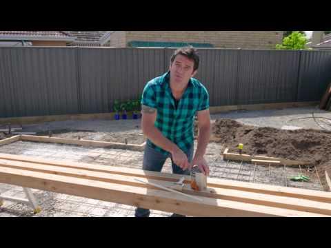 The Home Team Season 2 - DIY Timber Plant Screen