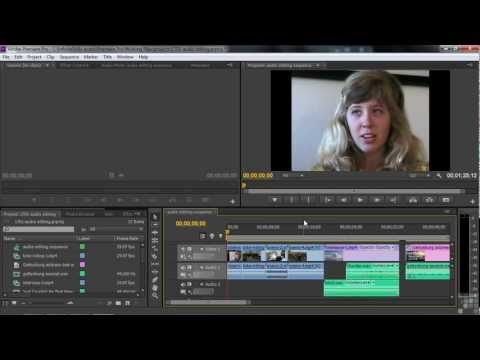 Adobe Premiere Pro CS6 Tutorial | Editing Audio | InfiniteSkills