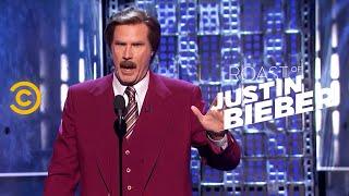 Roast of Justin Bieber - Ron Burgundy - A Star-Studded Evening  - Uncensored