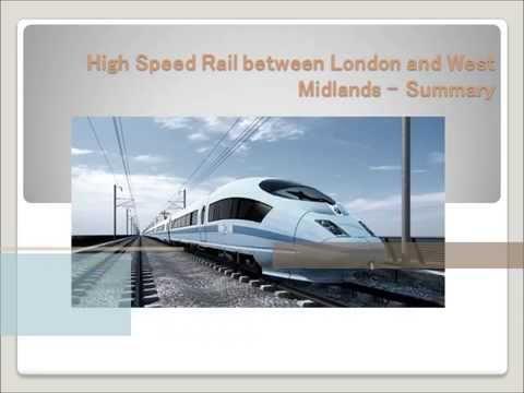 High Speed Rail HS2 - London to Birmingham Project Summary