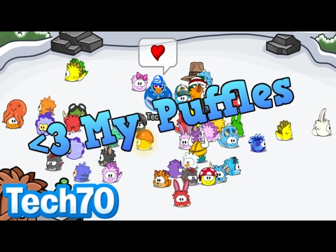 Tech70's Archive: My Puffles