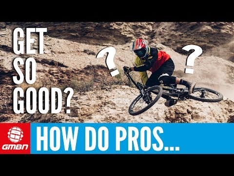 How Do Professional Mountain Bikers Get So Good?!