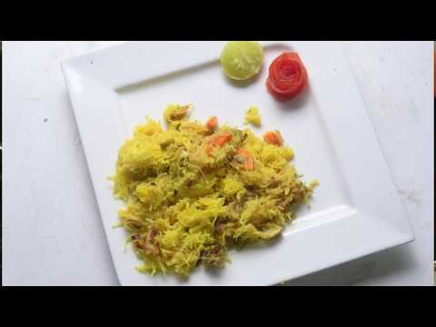 MUSHROOM CARROT RICE SEMIYA PULAO / மஷ்ரூம் கேரட் RICE சேமியா புலாவ்  - TAMIL