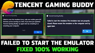 simple way to fix tencent gaming buddy error code 1 problem    Music