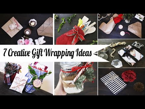 7 Creative Gift Wrapping Hacks - Super Easy | ANNEORSHINE