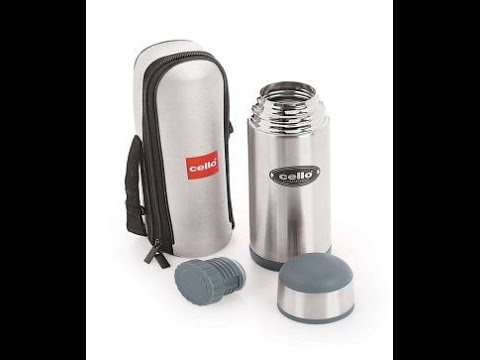 Cello Steel Thermo Flask
