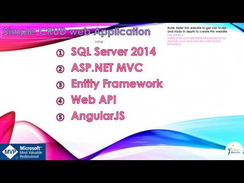 Introduction to Asp.Net MVC using AngularJS