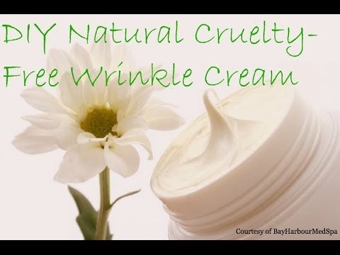 How to Make Natural Homemade Wrinkle Cream Using Coconut Oil