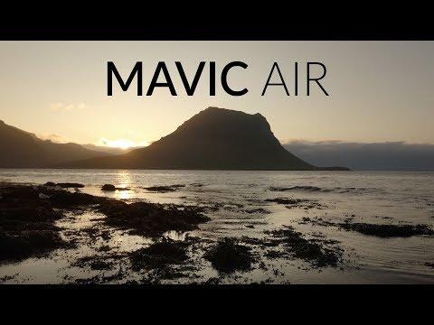 DJI Mavic Air BEST Settings vs Pro   Tutorial