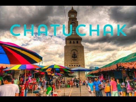 Chatuchak (Jatujak) Market Bangkok Thailand