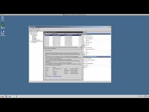 Windows Server 2008 R2 Event Viewer
