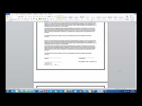 Multiple Page PDF Conversion Using Only Microsoft Word