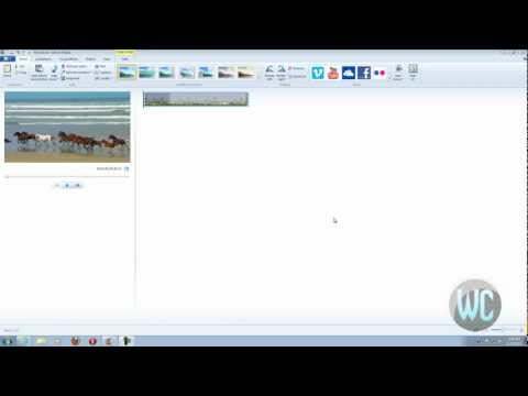 Windows Live Movie Maker 2012 - Converting Video to Audio files