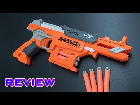 [REVIEW] Nerf Elite Accustrike Falconfire Unboxing, Review, & Firing Test