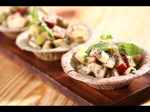 Apple Chaat | Apple Tasty Delight | Sanjeev Kapoor Khazana