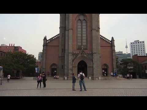 Korea Vlogs | Myeongdong Cathedral