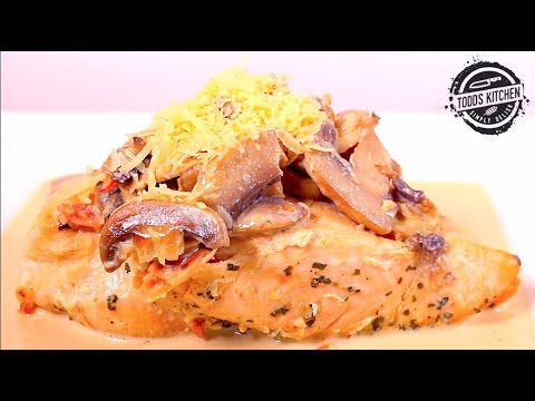 Creamy Garlic Chicken with Bacon One Pot Recipe