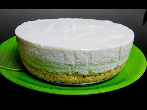Creamy Cheesecake Recipe Without Gelatin   Cake Without Baking   ഈസി ചീസ് കേക്ക്