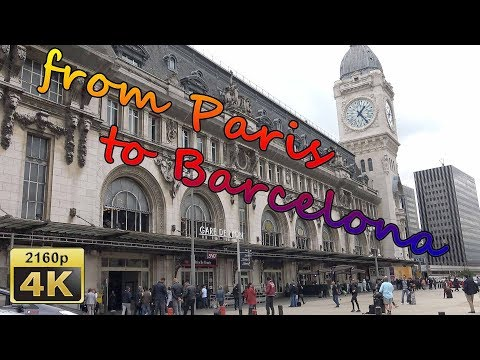 Hola Bonjour - From Paris to Barcelona with Renfe-SNCF - France,Spain 4K  Travel Channel
