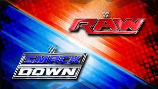 WWE - Raw & Smackdown Intro W/ Pyro {2016-2017}