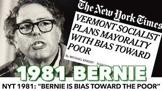 "Download NYT 1981: ""Bernie Shows Bias Toward The Poor"" Video"