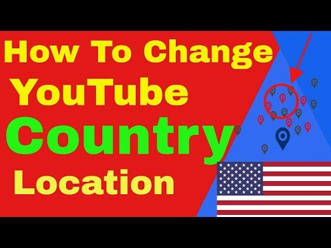 How to change country name in youtube | How to change Country Location in YouTube