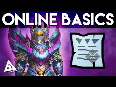 Monster Hunter 4 Ultimate Tutorial - Online Basics: Hunter Rank, Key Quests and More!