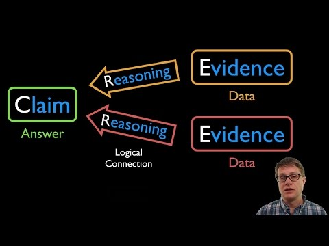 CER - Claim Evidence Reasoning