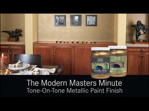 Modern Masters Tone On Tone Metallic Finish