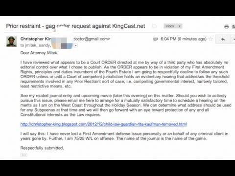 Blogger defies NY Court Order to remove proof of judicial bias in custody case.