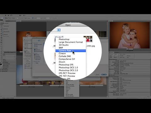 How To Open Jpeg In Camera Raw