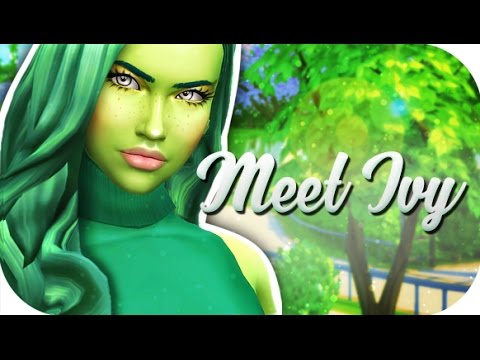 THE SIMS 4 // ULTIMATE PLANTSIM CHALLENGE 🌿 | PART 1 — MEET IVY!