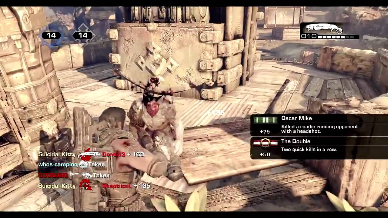 Download GoW 3 On screen quad with Double Headshot MP3 Gratis