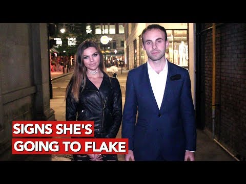 Signs she's going to flake! Flake detection and prevention